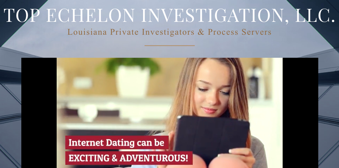 Dating service infidelity investigation